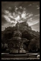 edinburgh castle by alanc79