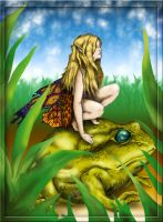 Fairy Toad Color by donchewliano