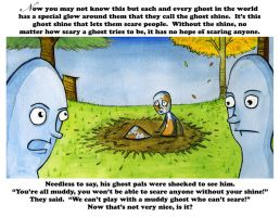 The Sad Little Ghost Page 4 by glassonion14