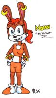 Mona the Rabbit by melissaduck
