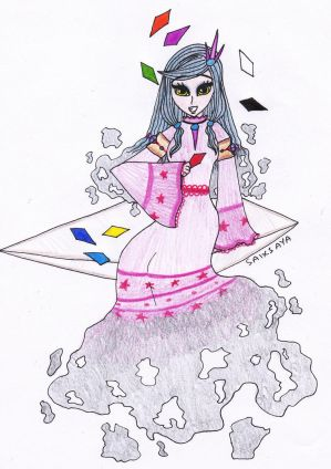 Touhou OC RBD Phantasm stage boss - Iro no Kemuri