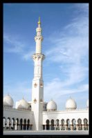 Zayed Mosque Minarate by Sultan-Almarzoogi