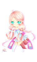 [Commission] [Speed Paint] Lovely Acacia by l-Shiroi-Sakura-l