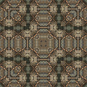 Pewter and Bronze Tile by janclark