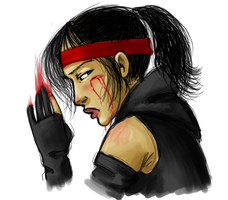 Another Bloody Karai by jumpbird