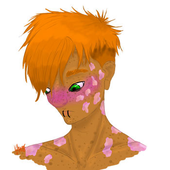 Freddy short hair with burns  by Killerer2708