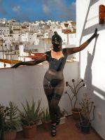 Latex Model in a Spanish Town by LatexModel