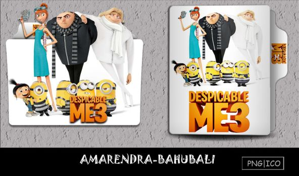 Despicable Me 3 (2017) folder icon by AMARENDRA-BAHUBALI