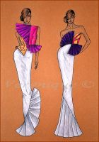 Collection of dresses 4. by Verenique