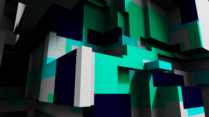 Cubed -Voxel Wallpaper- by B-ad--Apple