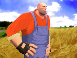 TF2 Rural Heavy by VaultBoy596
