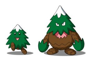 Pinechi and Evolution by 070trigger