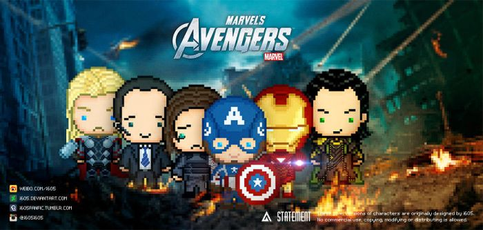 The Avengers by i605