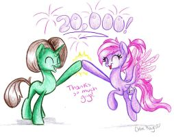20,000 Pageviews! by frostykat13