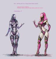 Almost Tali - Just like Mileena by Amales