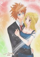 Lucy and Loke by Yuri-chan24
