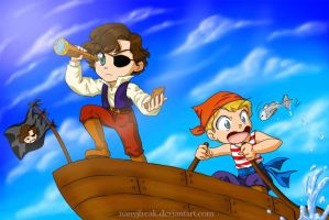 Sherlock_kids pirates by NanyJfreak