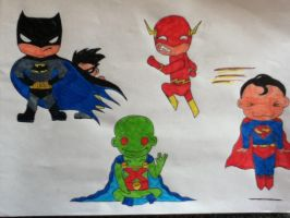 Justice League by Nina2258