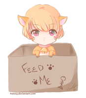 LS:Feed Me! by haneiy