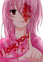 When a Yandere Expresses their Feelings by yandere-shinai
