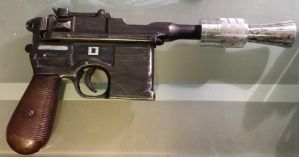 Han Solo Empire Blaster Scope(less) Side by SanHolo80