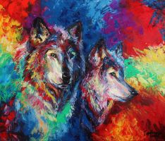 Wolves by gerbrandt