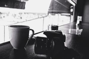Coffee and Cameras by LeaLion