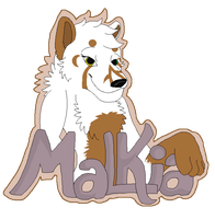 Malkia Badge by boxes-of-foxxes