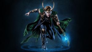 Loki Laufeyson WP by SweetAmberkins