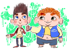 Paranorman by xtraZenny