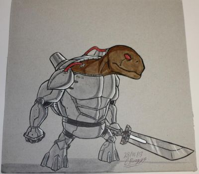 Cyborg Tortoise. by Prince-of-Pork-117