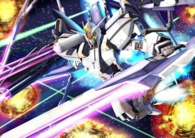 Gundam SEED A-STAR - TRIAS H.W.S. - by csy5150
