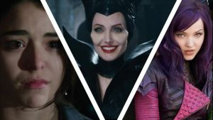 Maleficent and her daughters Lilith and Mal by LadyIHVEByron
