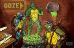 TMNT post change by mannycartoon