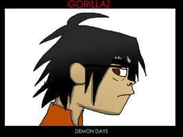 Me as Demon Days by FoxTail8000