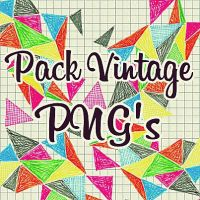 Vintage pack PNG's by AngieEditions01