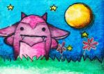 Monster Watercolors 001 by Nissie