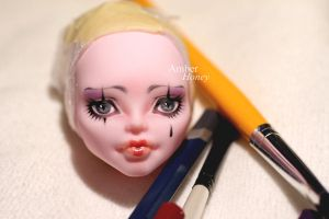 Pierrot finished by Amber-Honey