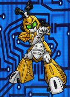 medabots Metabee by Mel-the-shadow-lover