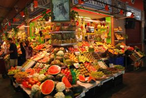 Colorful market by ReneHaan