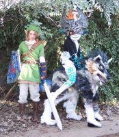 Twilight Princess cosplay by LilleahWest