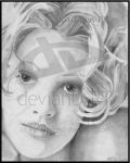 Drew_Barrymore_by_KLPDesignS by PortraitPencilArt