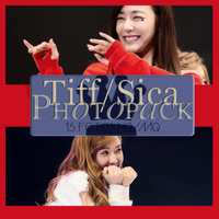 Photopack Tiffany Y Jessica- SNSD 019 by DiamondPhotopacks