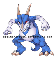 Veedramon by DigimonArtist
