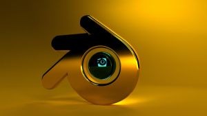 Blender gold, cycles version by ghostcero