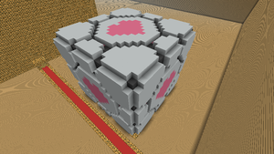 Companion Cube by Ymeisnot