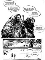 The Hobbit comics: Snow day - part (2) by evankart