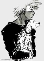 Kakashi and Dalmatian by kaaitkto