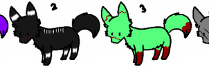 Adoptables and/or breedables! by daunt-less