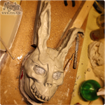 Donnie Darko Mask WIP by Nymla